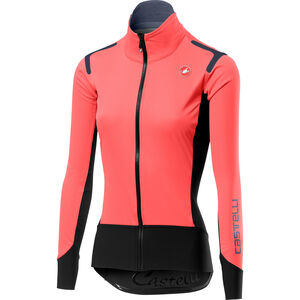 Castelli Alpha Rain Or Shine Leichte Jacke Damen brilliant pink/black brilliant pink/black