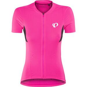PEARL iZUMi Select Pursuit Shortsleeve Jersey Damen screaming pink/black screaming pink/black