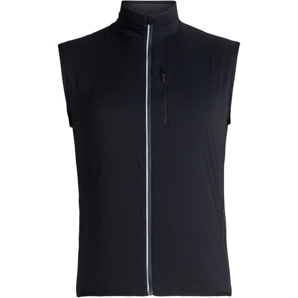 Icebreaker Tech Trainer Hybrid Vest Herren black/jet heather