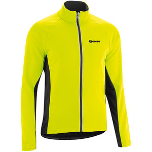 Gonso Diorit Softshell Jacke Herren safety yellow/black