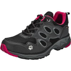 Jack Wolfskin Venture Fly Trail Running Shoes Women Texapore Low red fire bei fahrrad.de Online