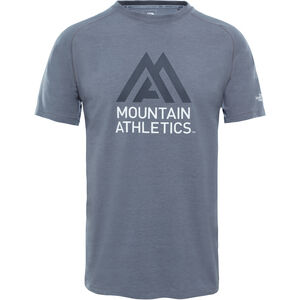 The North Face Wicker Graphic Crew Shirt Men Mid Grey Heather/Asphalt Grey bei fahrrad.de Online