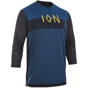 ION Scrub AMP 3/4 Shirt Herren ocean blue ocean blue