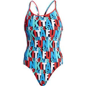 Funkita Diamond Back One Piece Swimsuit Women Swim Squad