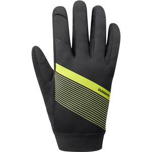 Shimano Wind Control Gloves Herren neon yellow neon yellow