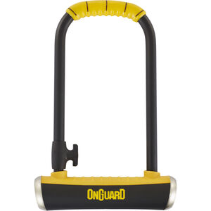 Onguard Pitbull STD 8003 Bügelschloss 115x230mm Ø14 mm schwarz/gelb schwarz/gelb