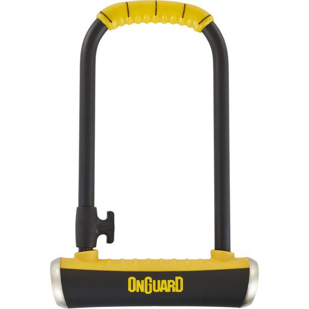 Onguard Pitbull STD 8003 Bügelschloss 115x230mm Ø14 mm schwarz/gelb
