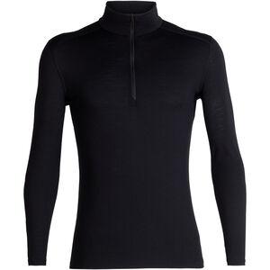 Icebreaker 200 Oasis LS Half-Zip Shirt Herren black black