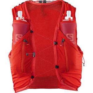 Salomon Adv Skin 12 Backpack Set fiery red bei fahrrad.de Online