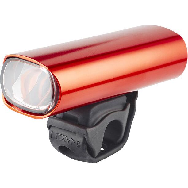 Lezyne Hecto Drive Pro 50 Frontlicht StVZO Y11 rot-glänzend/weiß