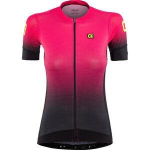 Alé Cycling PRS Dots SS Jersey Damen black-gerbera black-gerbera