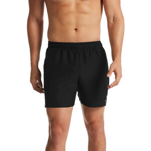 "Nike Swim Solid Lap 5"" Volley Shorts Herren black black"