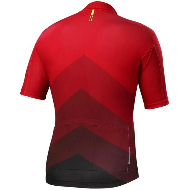 Mavic Cosmic Gradiant SS Jersey Herren red