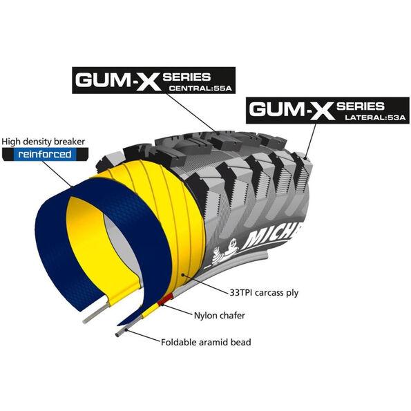 "Michelin Wild Rock'R2 29"" GumX faltbar"