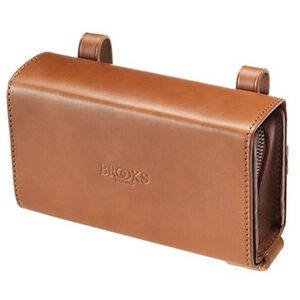 Brooks D-Shaped Saddle Bag honey honey