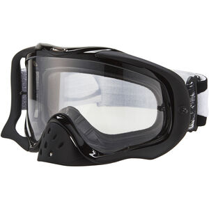 Oakley Crowbar MX Brille jet black speed/clear jet black speed/clear