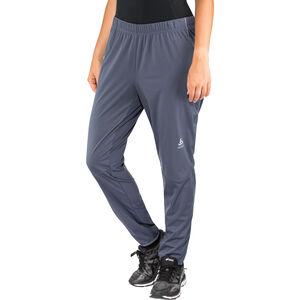 Odlo Zeroweight Windproof Warm Pants Damen odyssey gray odyssey gray