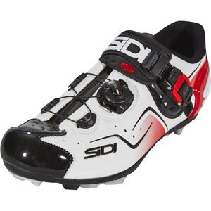 Sidi Cape Shoes Herren white/black/red white/black/red