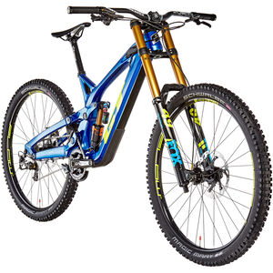 GT Bicycles Fury Team gloss metallic blue/yellow/cyan gloss metallic blue/yellow/cyan