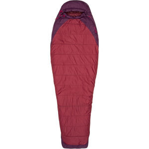 Marmot Trestles Elite 20 Sleeping Bag Women regular Madder Red/Dark Purple