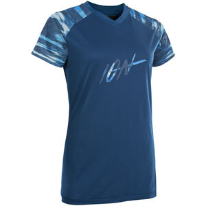 ION Scrub AMP Kurzarm-Shirt Damen ocean blue ocean blue