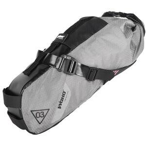 WOHO X-Touring Saddle Dry Bag S honeycomb iron grey honeycomb iron grey