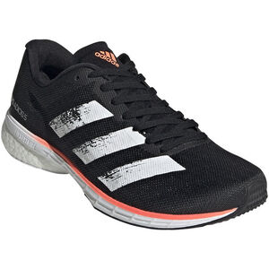 adidas Adizero Adios 5 Schuhe Damen core black/footwear white/signal coral core black/footwear white/signal coral