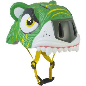 Crazy Safety Tiger Helm Kinder grün grün