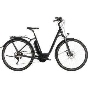 Cube Town Sport Hybrid Pro 500 Easy Entry Iridium'n'Black bei fahrrad.de Online