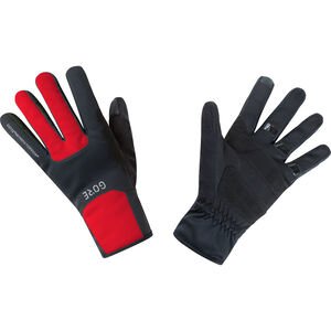 GORE WEAR M Gore Windstopper Thermo Handschuhe black/red black/red