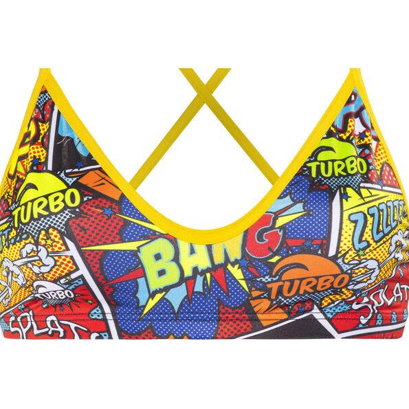 Turbo Boom Bikini Top Damen