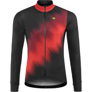 Alé Cycling Solid Pulse Longsleeve Jersey Herren black-bordeaux-red black-bordeaux-red