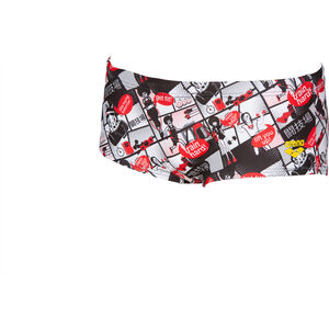 arena Comics Race Low Waist Shorts Herren red/multi red/multi