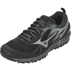 Mizuno Wave Ibuki GTX Running Shoes Herren black/metallic shadow/dark shadow black/metallic shadow/dark shadow
