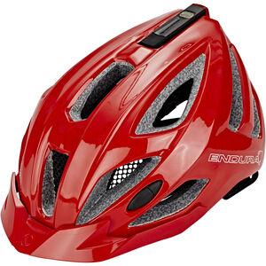 Endura Xtract Helmet gloss red gloss red