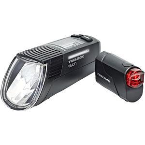 Trelock LS 760 I-GO Vision/LS 720 Beleuchtungs Set black black