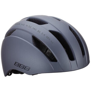BBB Metro BHE-55 Helm matt dunkel grau matt dunkel grau