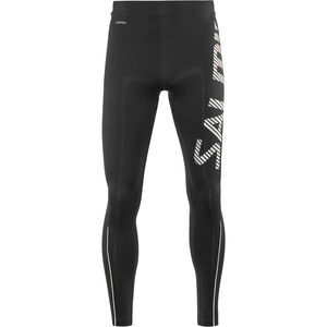 Salming Logo 2.0 Tights Men Black/Silver bei fahrrad.de Online