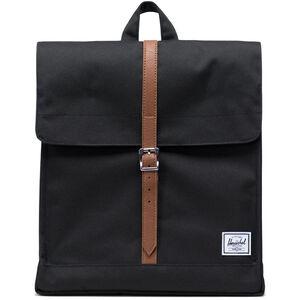 Herschel City Mid-Volume Backpack black/tan black/tan