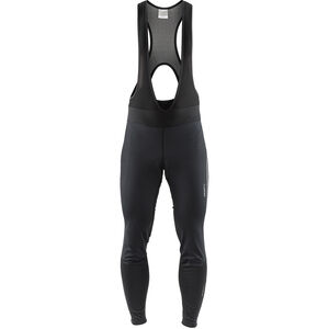 Craft Ideal Pro Wind Bib Tights Pad Herren black black