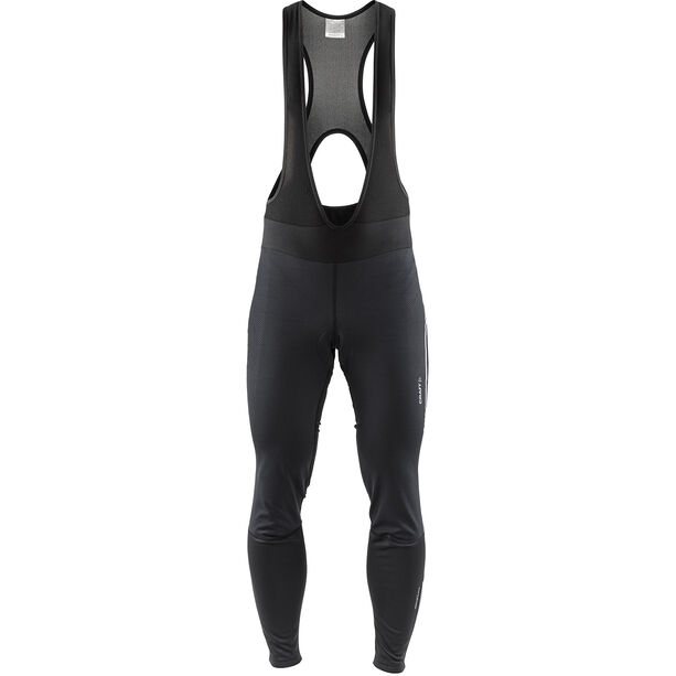 Craft Ideal Pro Wind Bib Tights Pad Herren black