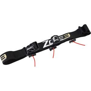Zone3 Race Belt with Gel Loops Black/Gold bei fahrrad.de Online