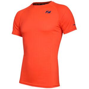 Zone3 Activ Lite CoolTech T-Shirt Herren fire orange/navy fire orange/navy