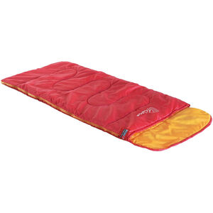 High Peak Kiowa Schlafsack links Kinder rot/orange rot/orange