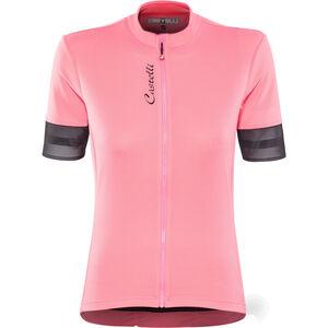 Castelli Anima 2 FZ Jersey Damen pink/light black pink/light black