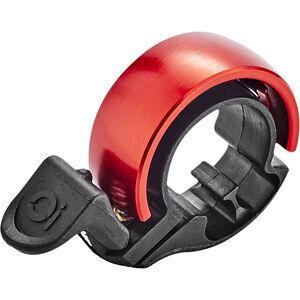 Knog Oi Classic Fahrradklingel black/red black/red