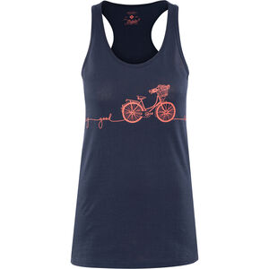 Triple2 Deel Bike Tank-Top Women Peacoat peacoat