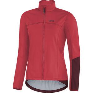 GORE WEAR C5 Windstopper Thermo Jacket Damen hibiscus pink/chestnut red hibiscus pink/chestnut red