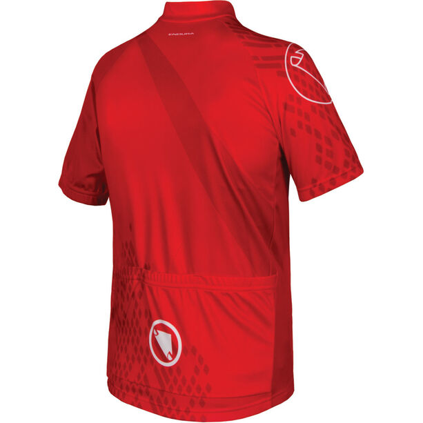 Endura Ray SS Jersey Kinder red