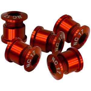 NC-17 Kettenblattschraube 4 und 5 Loch rot rot